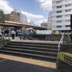 東京メトロ秋葉原駅5番出口横の憩いの場、佐久間橋児童遊園