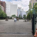 小川町・淡路町エリア最大級の公園、小川広場